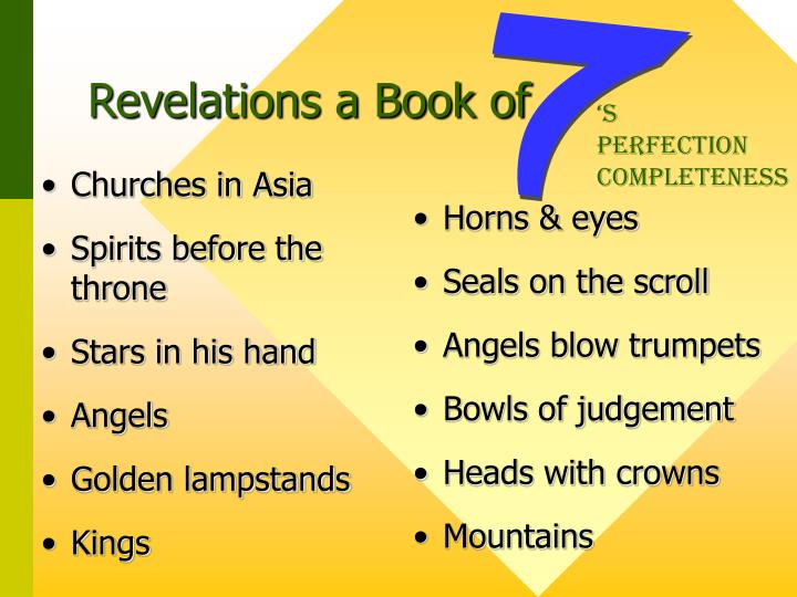 Revelations a book of