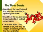 the three beasts