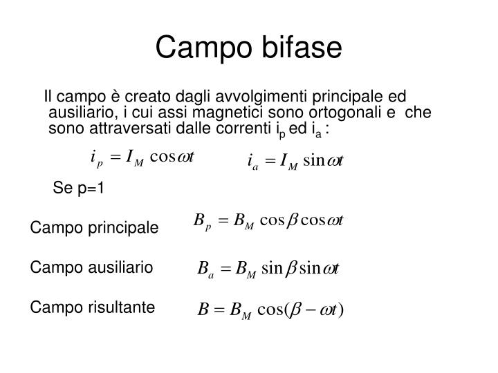 Campo bifase