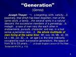 generation genea6