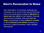 nero s persecution in rome37