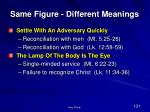 same figure different meanings103