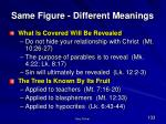 same figure different meanings105