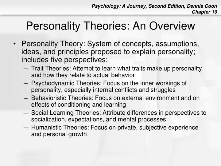 thesis statement on overview of the psychodynamic theory of personality Pegasus whirlpool baths is home of essay theories thesis statement personality essay to an overview of on personality & values this free psychology.