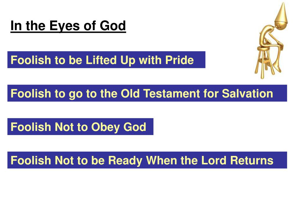 In the Eyes of God