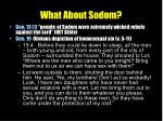 what about sodom
