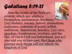 galatians 5 19 21