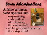 seven abominations17