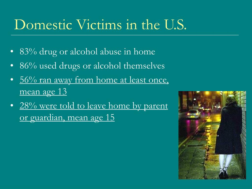 Domestic Victims in the U.S.