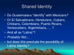 shared identity