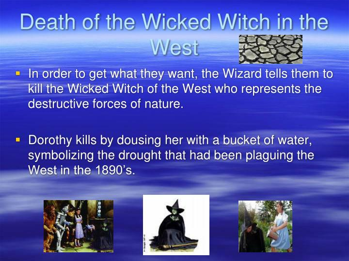 Death of the Wicked Witch in the West