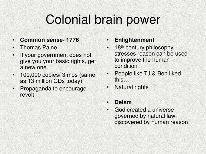 Common sense- 1776