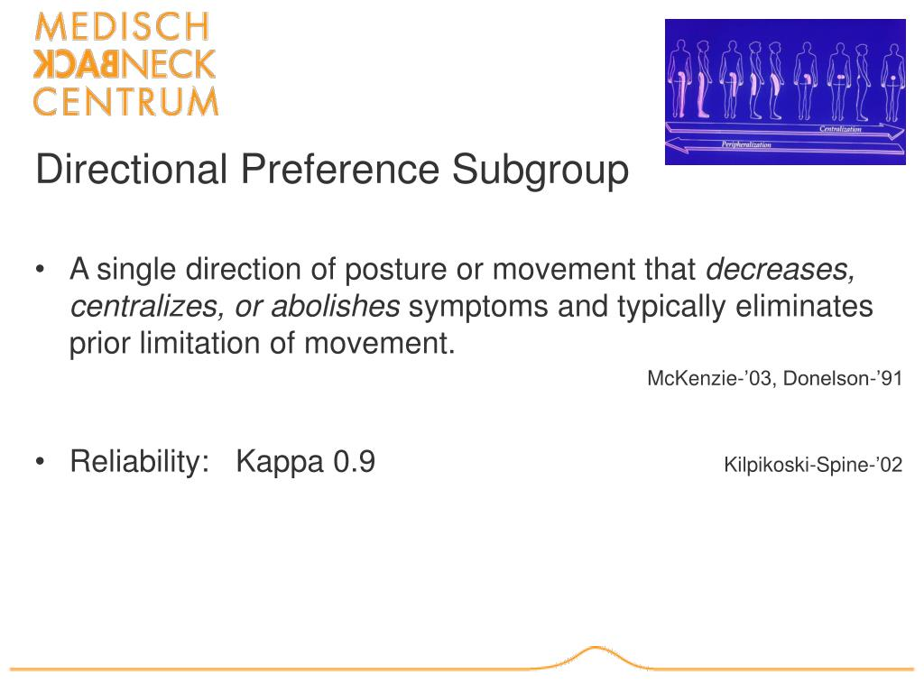 Directional Preference Subgroup