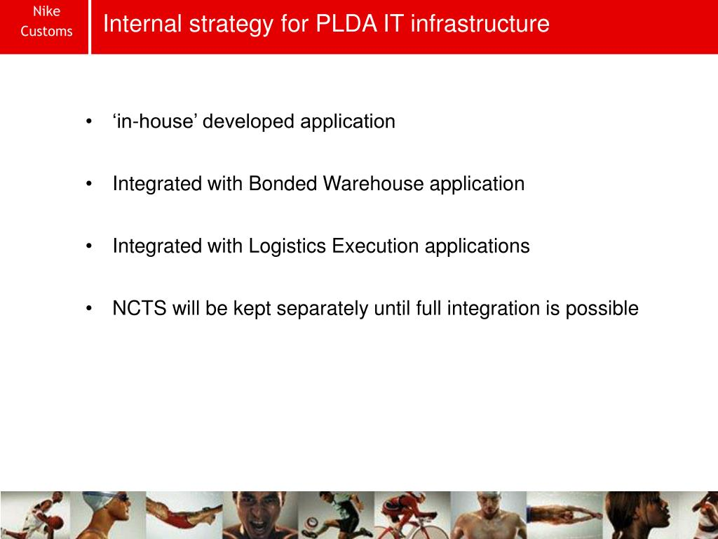 Internal strategy for PLDA IT infrastructure