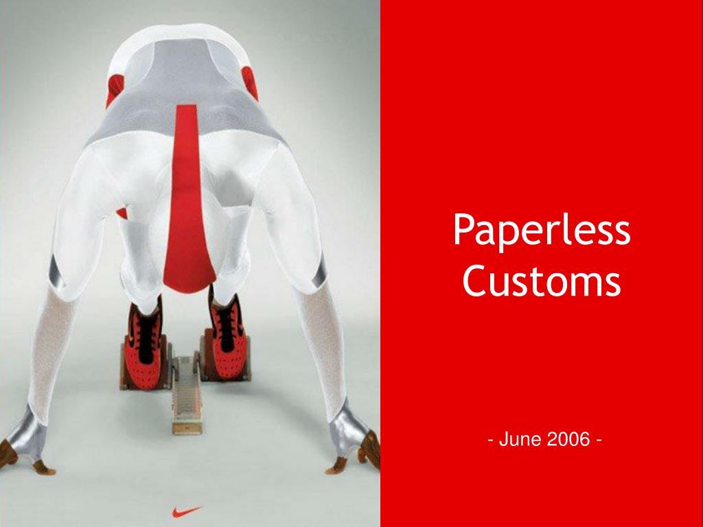paperless customs l.
