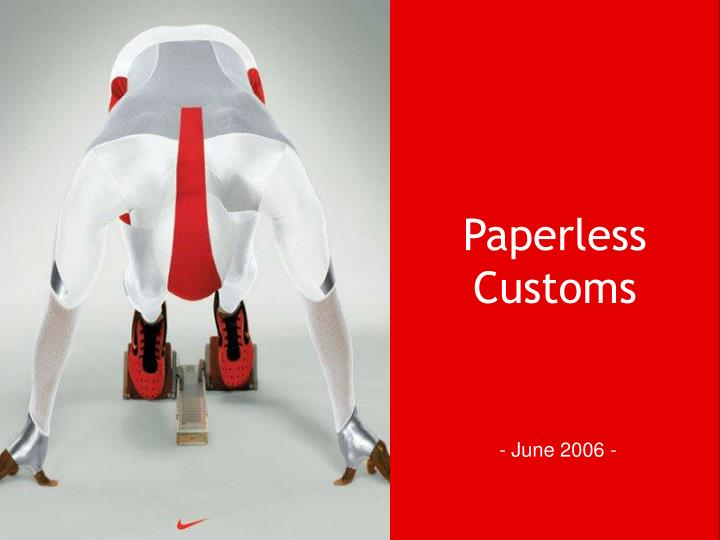 Paperless customs