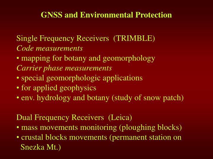 G ns s and environmental protection1