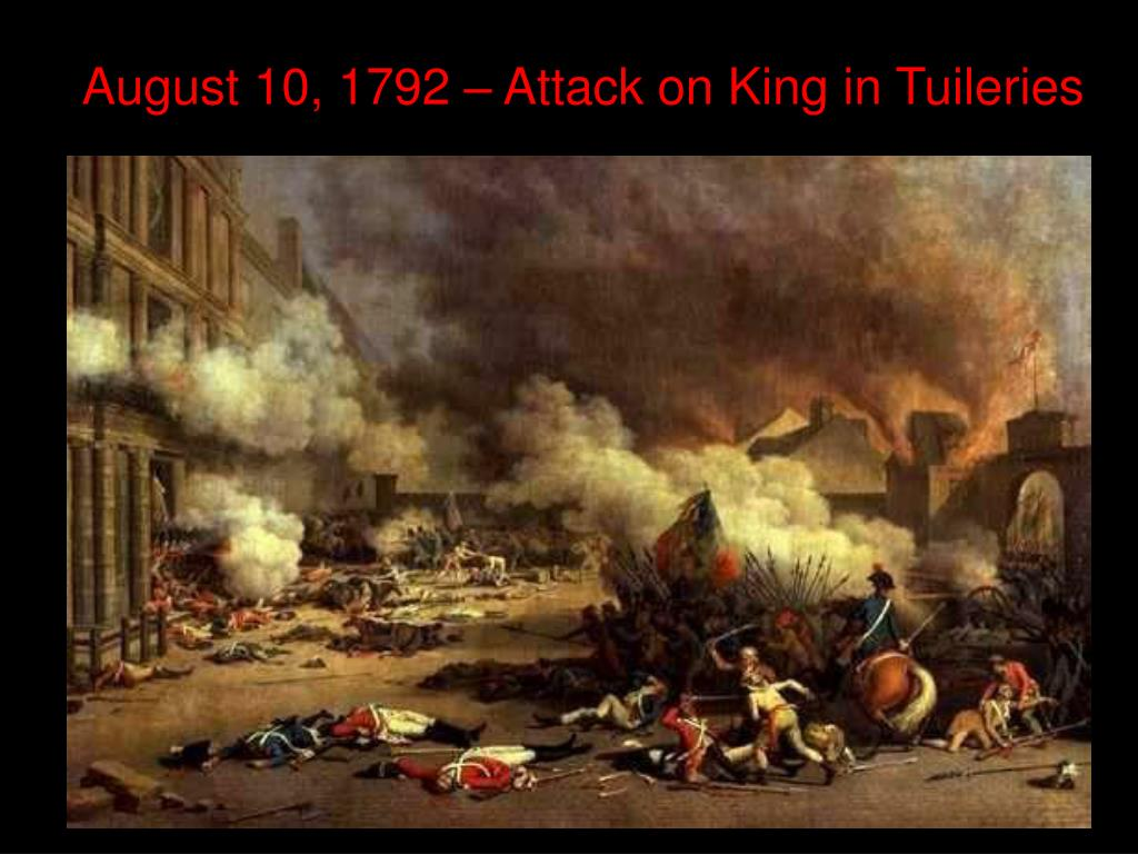 August 10, 1792 – Attack on King in Tuileries