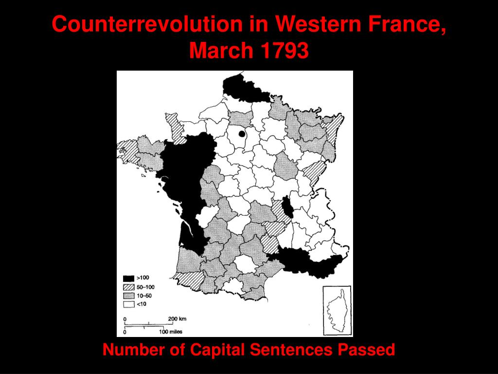 Counterrevolution in Western France, March 1793