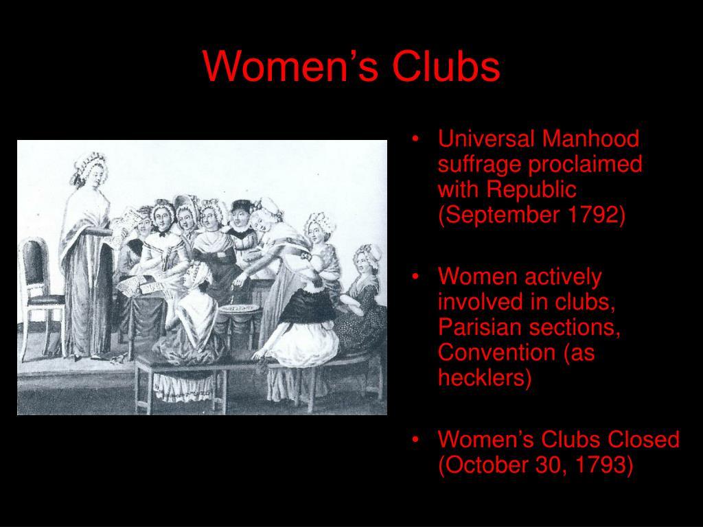 Women's Clubs