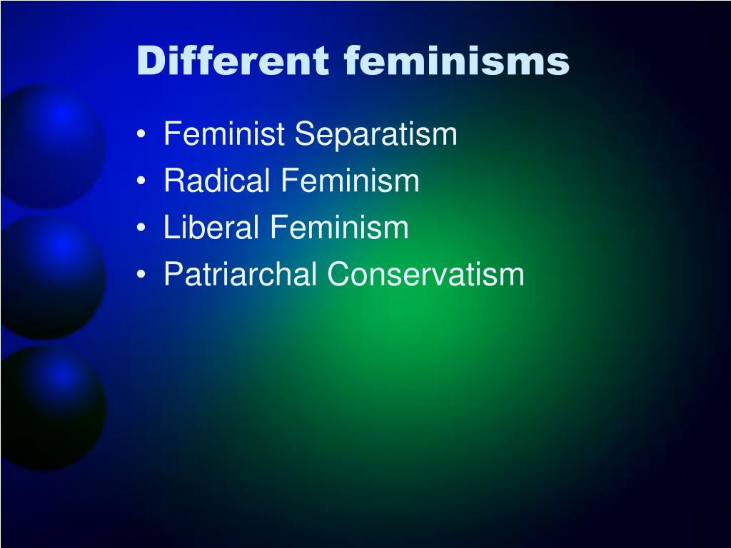 Different feminisms