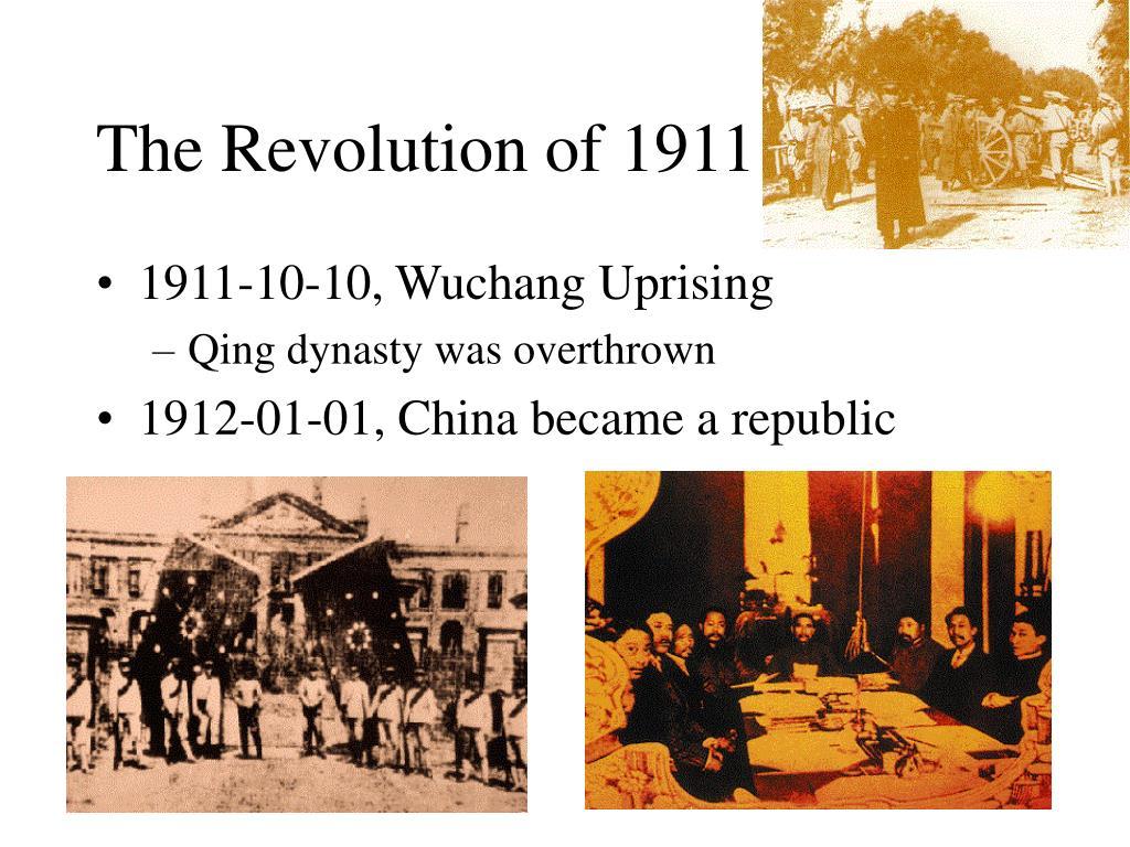 The Revolution of 1911