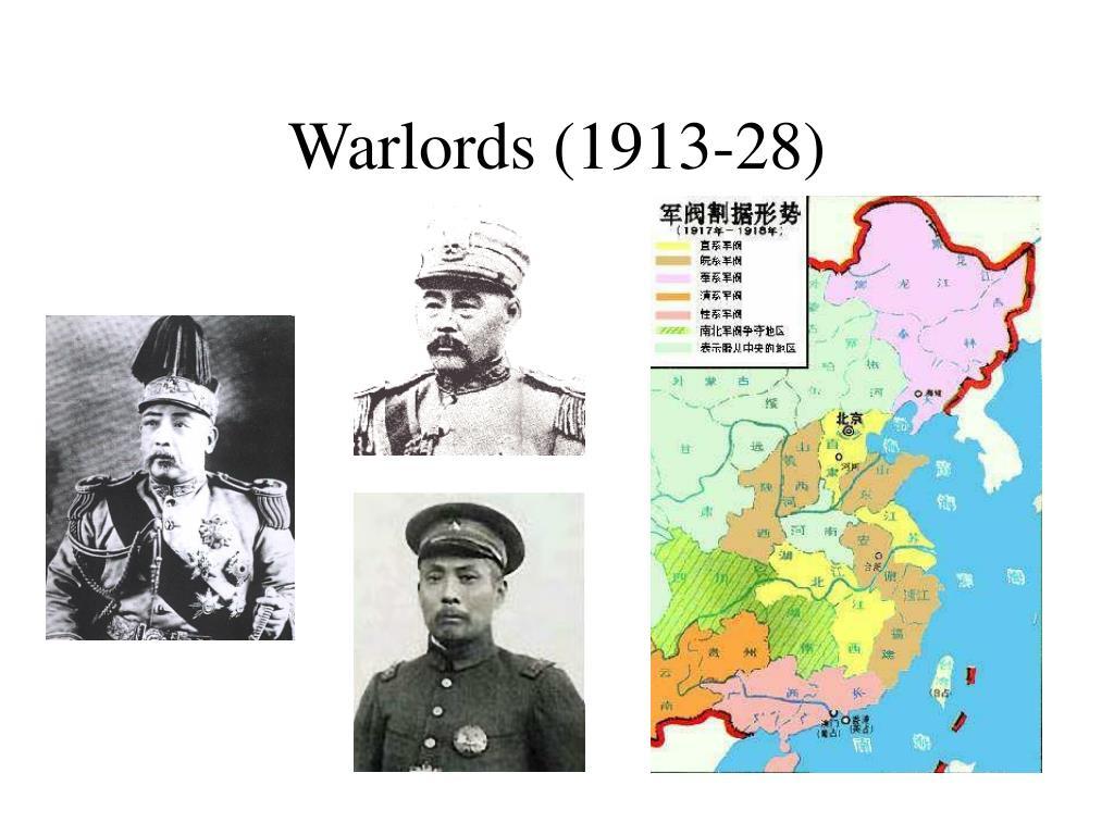 Warlords (1913-28)
