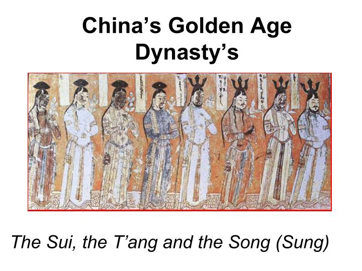 china s golden age dynasty s