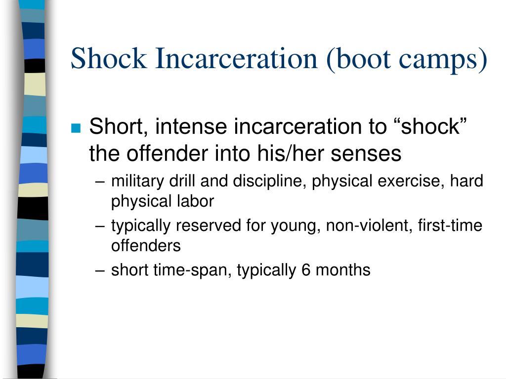 shock incarceration