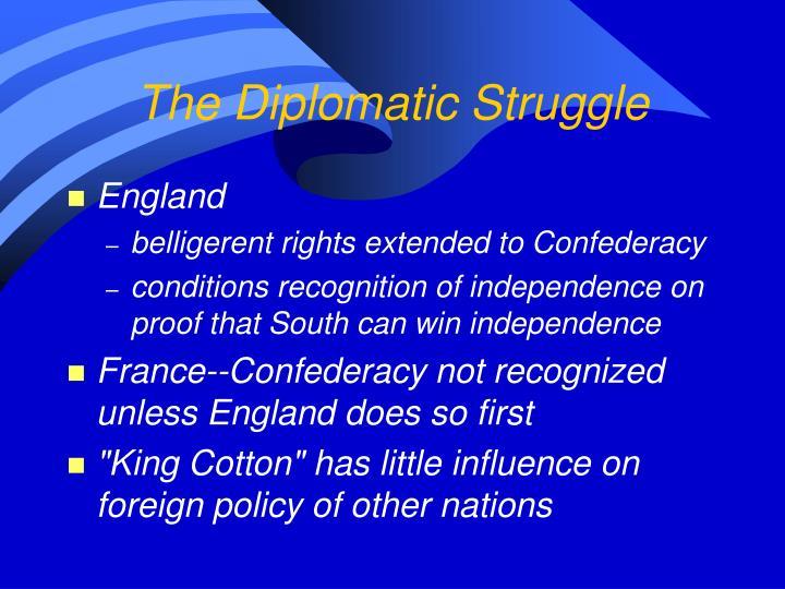 The Diplomatic Struggle