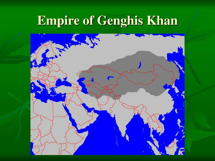 Empire of genghis khan