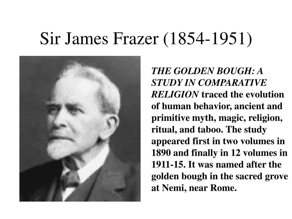 Sir James Frazer (1854-1951)