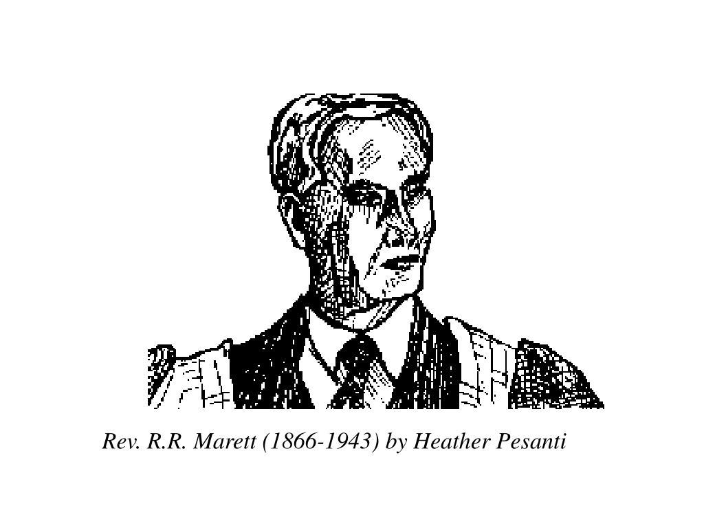 Rev. R.R. Marett