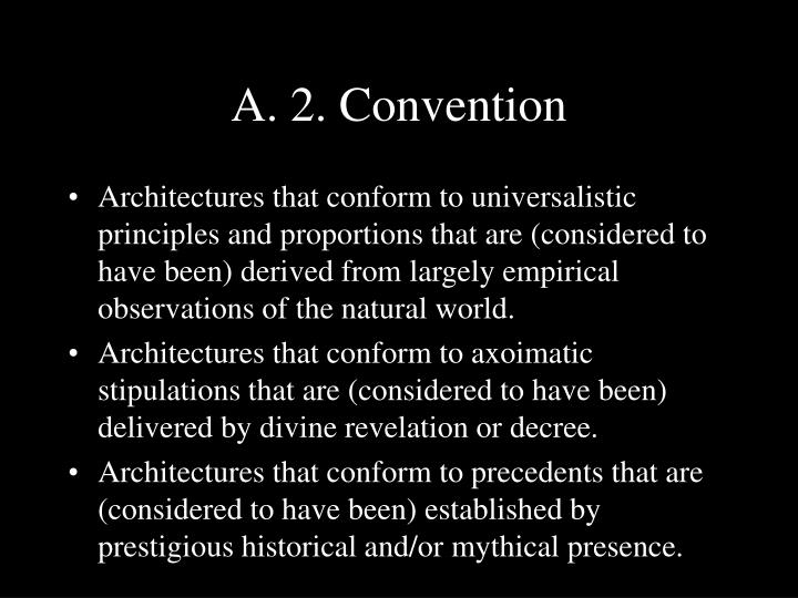 A. 2. Convention