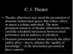 c 1 theater