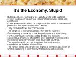 it s the economy stupid26