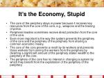it s the economy stupid28