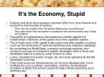 it s the economy stupid29