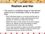 realism and war10