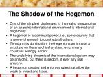 the shadow of the hegemon22