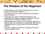 the shadow of the hegemon23