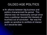 gilded age politics9