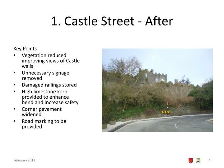 1. Castle Street - After