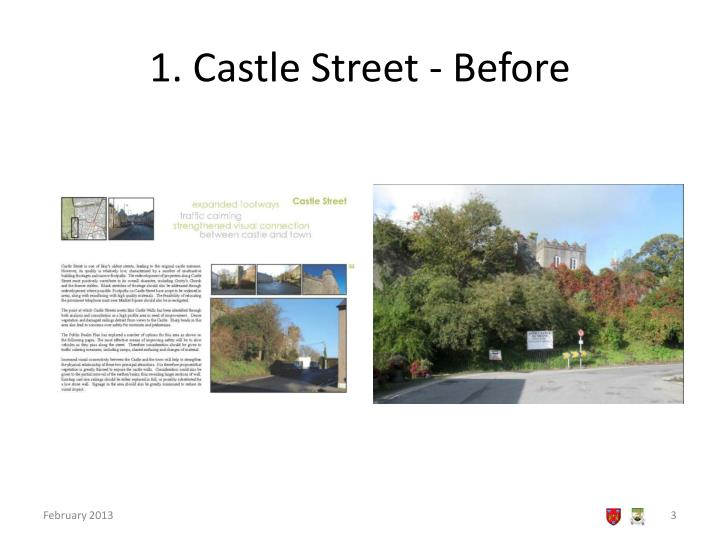 1 castle street before