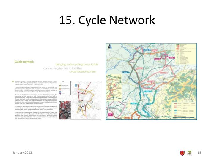 15. Cycle Network