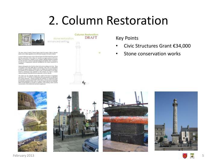 2. Column Restoration