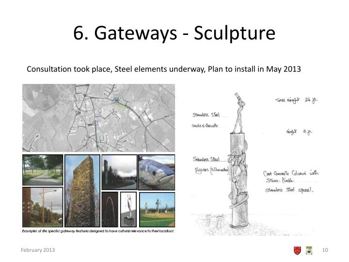 6. Gateways - Sculpture