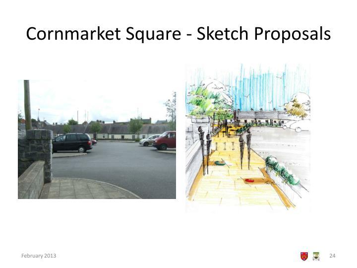 Cornmarket Square - Sketch Proposals