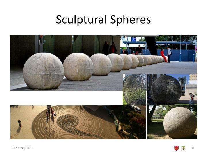 Sculptural Spheres