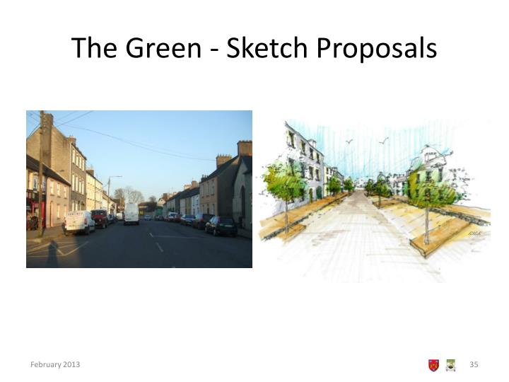 The Green - Sketch Proposals
